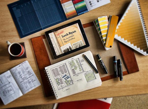 Graphic design and print portfolio